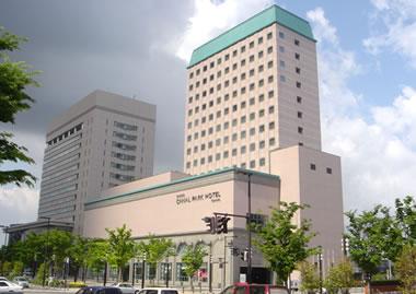 富山市牛島再開発(カナルパークホテル)