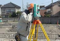 リアルタイムなデジタル処理により高精度かつ迅速な測量が可能。