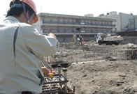 上記サービスの御提供により施工管理をサポートします。